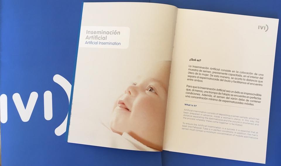 Opinión IVI, pack bienvenida clínica reproducción asistida
