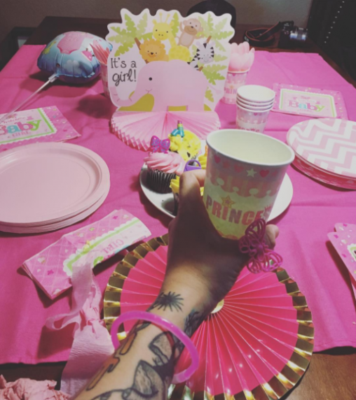 Baby shower: es una niña!