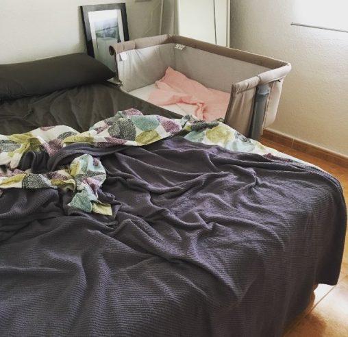Mi cama y la cuna de colecho
