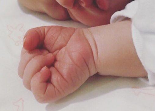 Mi niña recién nacida