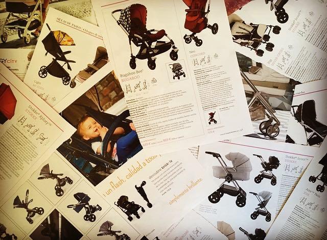 El complicadísimo mundo de los carritos de bebé