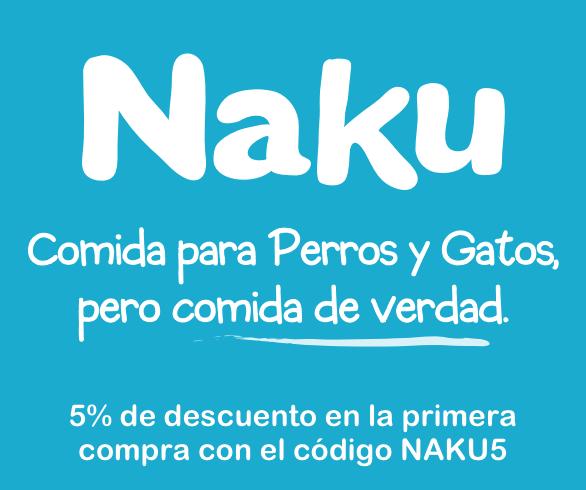 Naku comida de verdad para perros y gatos